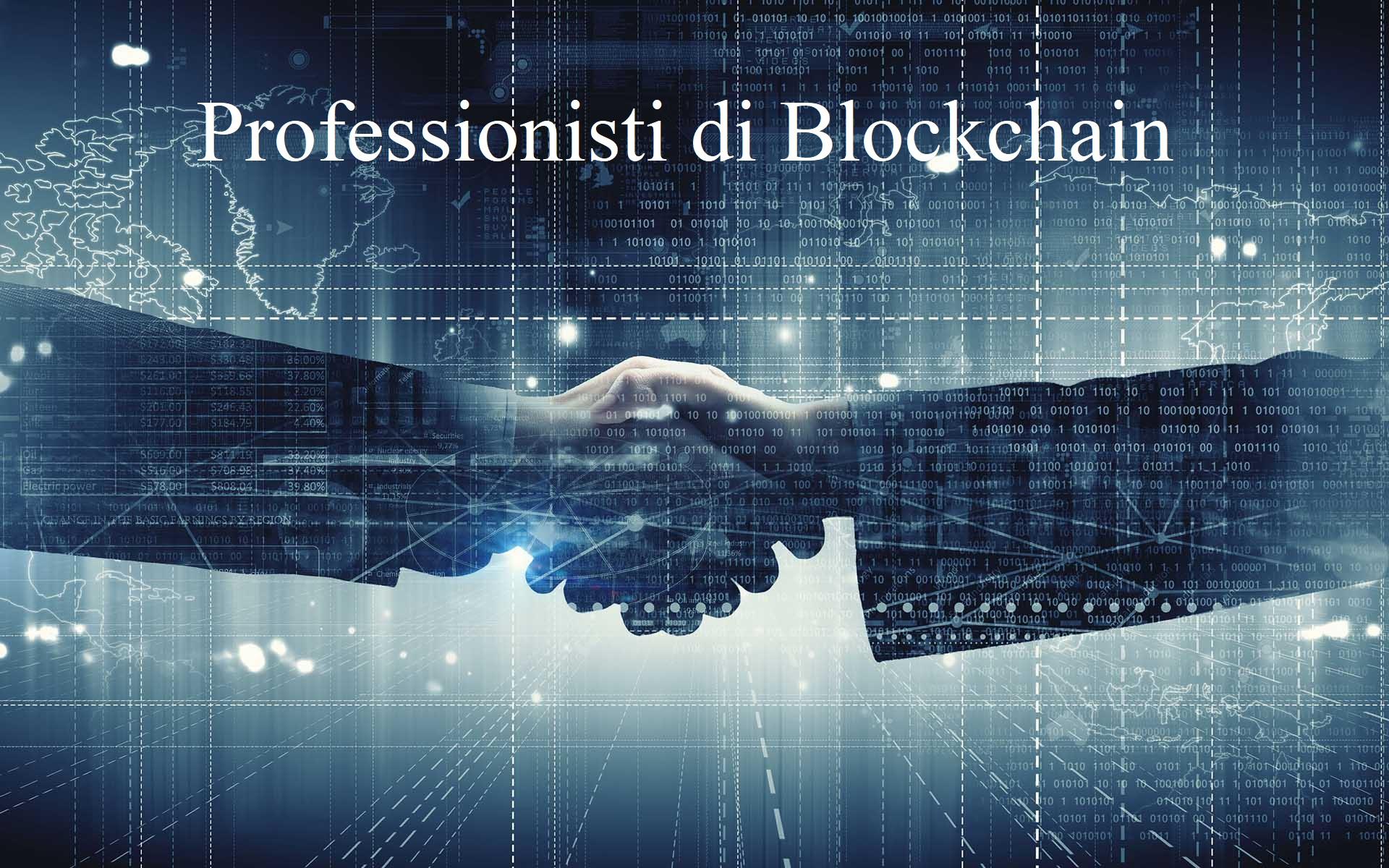 professionisti di blockchain